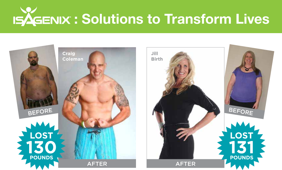 Isagenix success stories
