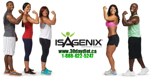 Isagenix Canada phone number
