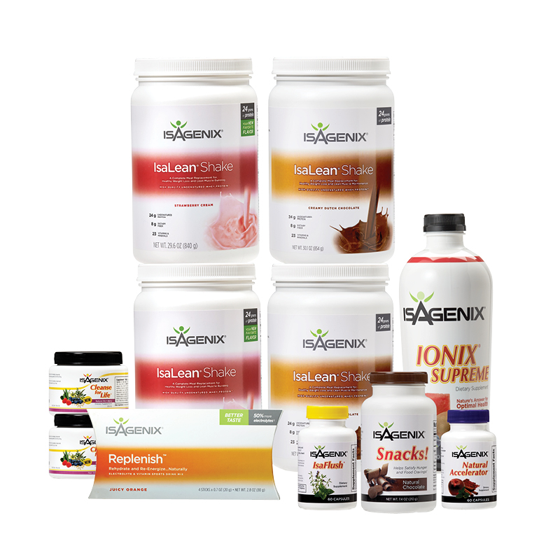 Isagenix products 30 day program