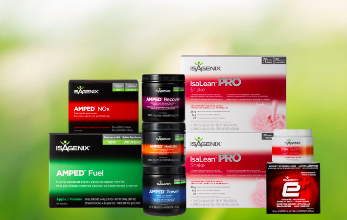 Isagenix performance packs Canada