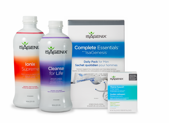 Isagenix product videos