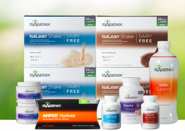 Isagenix products Canada