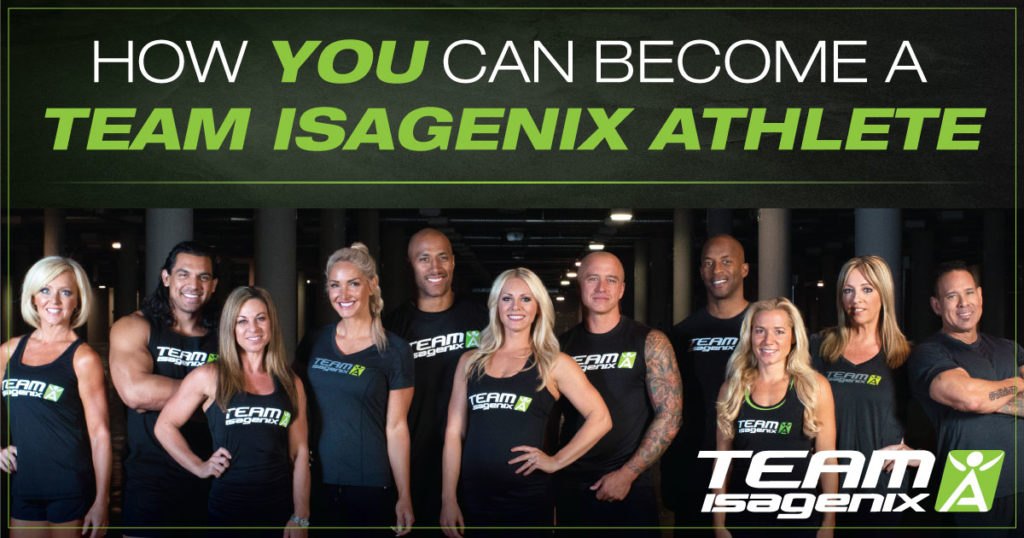 team isagenix athlete